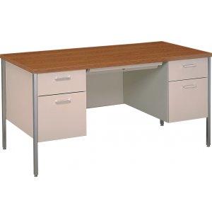Steel Executive Double-Pedestal Teachers Desk