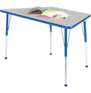 Edu Edge Trapezoid Activity Table with Ball Glides