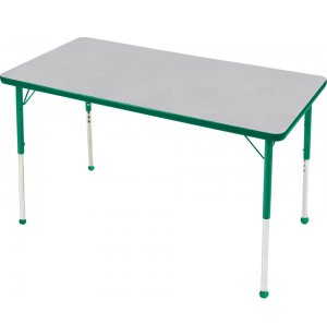 Edu Edge Rectangular Activity Table with Ball Glides