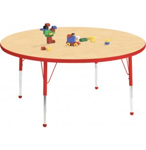 Edu Edge Round Activity Table with Ball Glides