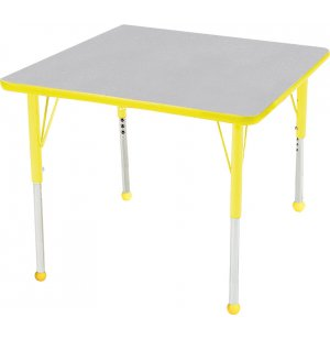 Educational Edge Square Activity Table with BallGlides