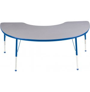 Educational Edge Kidney Activity Table with BallGlides