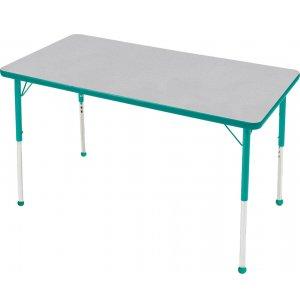 Edu Edge Rectangular Activity Table with Ball glides