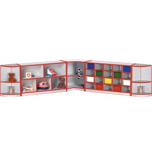 Educational Edge Full Corner Preschool Cubbies