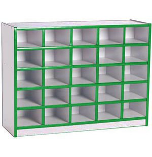 Educational Edge Cubby Storage - 25 Cubbies