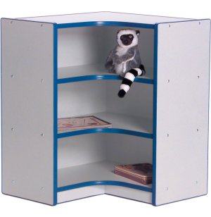 Educational Edge Youth-Size Inside Corner Cubby Storage