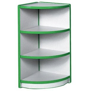 Educational Edge Youth-Size Outside Corner Cubby Storage