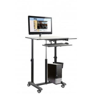 EduTouch Pro Sit & Stand Multimedia Presentation Cart