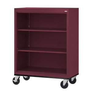 Educational Edge Steel Mobile Bookcase