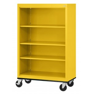 Educational Edge Steel Mobile Bookcase