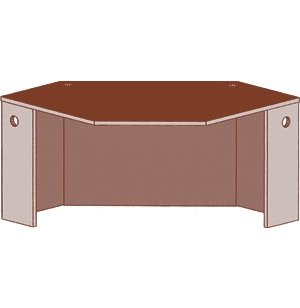 Educational Edge Circulation Desk - Corner Unit