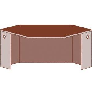 Educational Edge Circulation Desk - Corner Unit