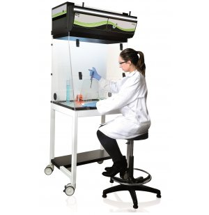 CaptairFlex Mobicap Cart for ELB-M321 Ductless Fume Hood