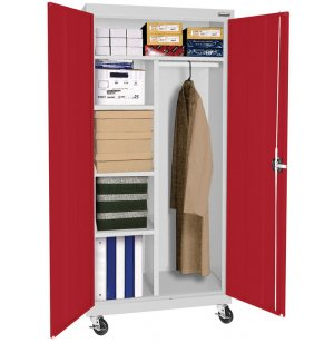 Educational Edge Mobile Wardrobe Cabinet