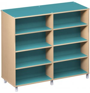 Palette Envision Library Shelving - Double-Sided