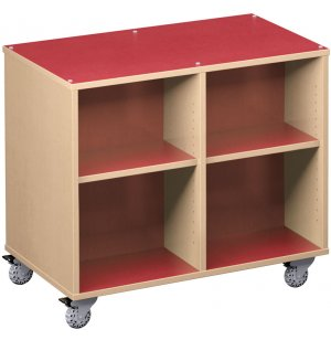 Palette Mobile Cubby Storage - Double-Sided