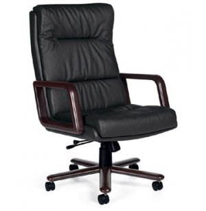 Era Wood - High Back Exec. Tilt Office Chair
