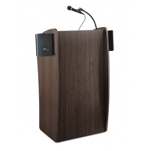 Vision Sound Lectern w/ Wireless Mic