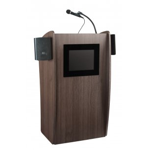 Vision Sound Lectern - Built-In LCD Screen, Wireless Mic