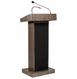 Orator Sound Lectern w/Mic Fixed Height