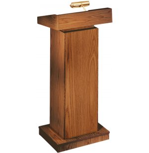 Orator Non-Sound Lectern Adjustable Height