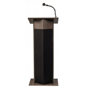 Power Plus Rostrum Podium with Wireless Mic