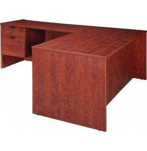 Contemporary L-Shaped Office Desk