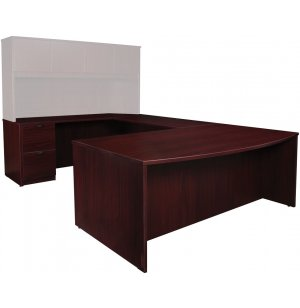 Contemporary Left U-Shaped Office Desk