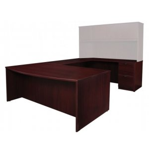 Contemporary Right U-Shaped Office Desk