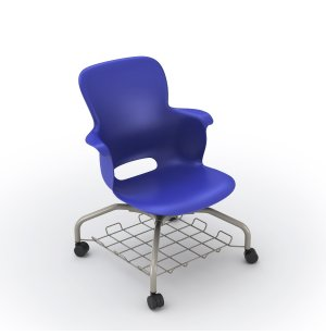 Ethos Mobile School Chair with Storage