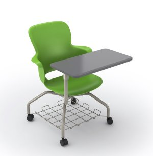 Ethos Mobile School Chair with Storage, Tablet