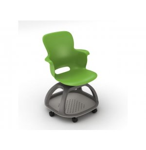 Ethos Mobile School Chair with Quad Base