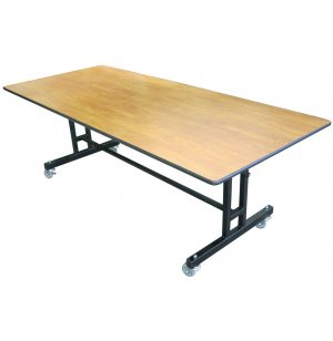 EZ-Tilt Mobile Folding Cafeteria Table