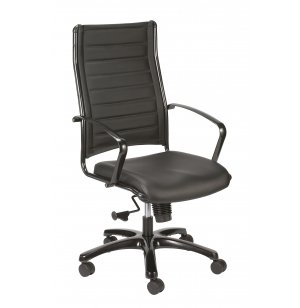 Europa Metallic High-Back Chair