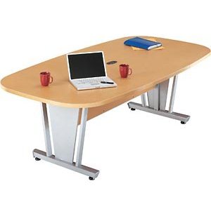 Europa Boat-Shaped Conference Table