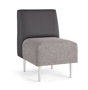 Eve Armless Reception Chair - Grade 3