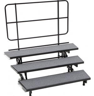 E-Z Folding Choir Riser - 3-Level