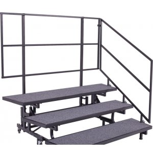 Set of 2 Side Rails for 4-Tier E-Z Risers