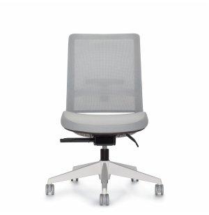 Factor Mesh Medium Back Armless Office Chair Premium Colors