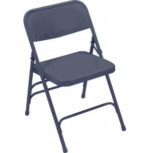 All Steel Triple Brace Folding Chair