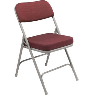 Fabric Upholstered Folding Chair