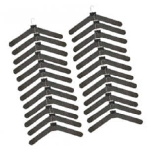 Mini Hook Type Hangers-24 Pack