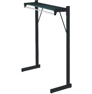 DS Series Commercial Floor Coat Rack - 20 Capacity