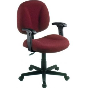 Secretarial Task Office Chair- Adjustable Arms