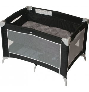 Sleep N' Store Portable Play Yard with Bassinet