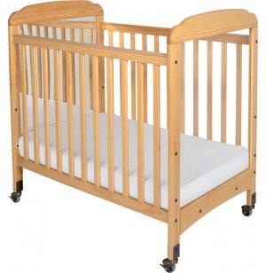 Serenity Fixed Sides Crib Mirror w/ Mattress