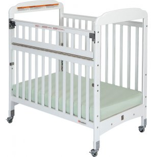 Serenity SafeReach Compact Crib ClearView w/ Mattress