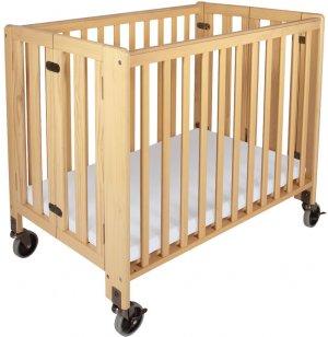 Hideaway Compact Folding Crib w/Mattress