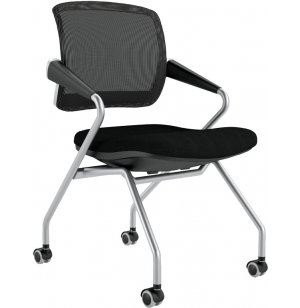 Mid Back Training Room Chair, Pack of 2