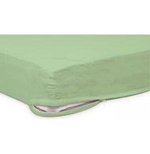 Foundations Zippered White Sheet for 3-4